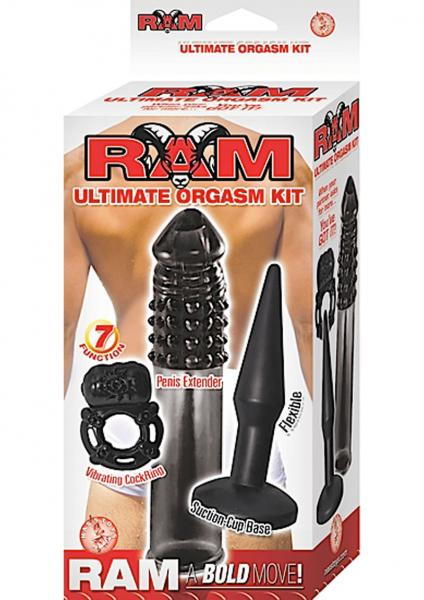 Ram Ultimate Orgasm Kit - Black