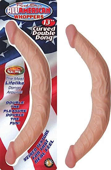 "All American Whopper 13"" Curved Double Dong"