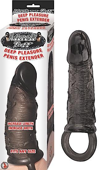 Deep Pleasure Penis Extender - Black