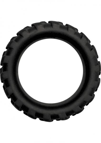 Large Silicone Tire Ring - Black