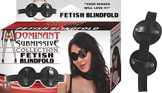 Fetish Blindfold - Black - O/S