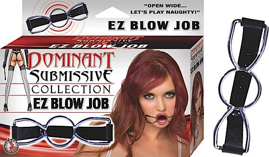 EZ Blow Job Gag - Black - OS