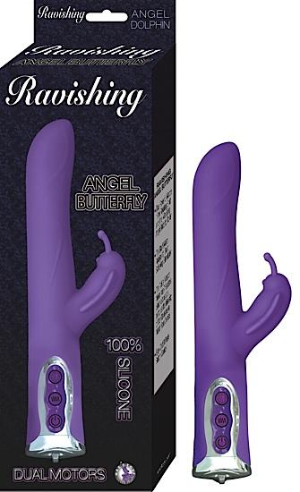 Ravishing Angel Butterfly Purple Vibrator