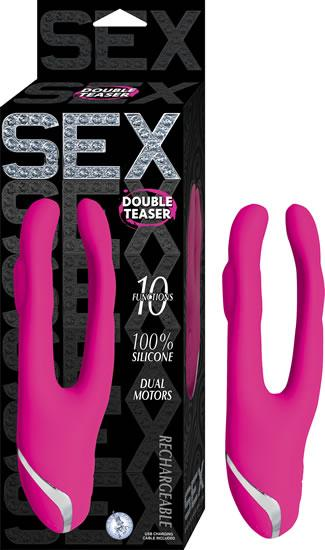 Sex Double Teaser Pink Vibrator