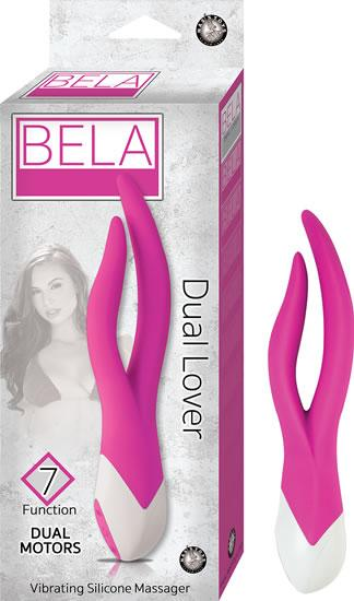 Bela Dual Lover Pink Vibrator