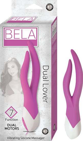 Bela Dual Lover Purple Vibrator