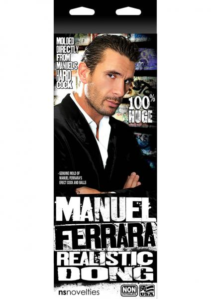 Manuel Ferrera Realistic Uncircumcised Dong