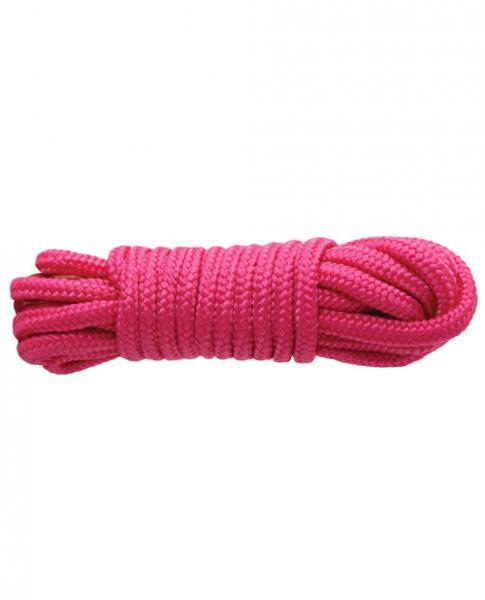 Sinful 25 Feet Nylon Rope Pink