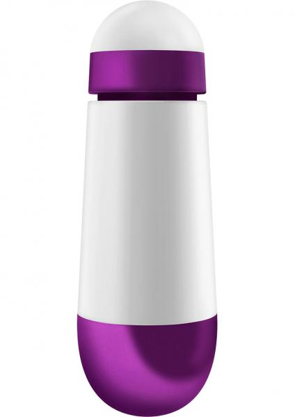 Ovo W2 Bullet Vibrator White And Metallic Purple