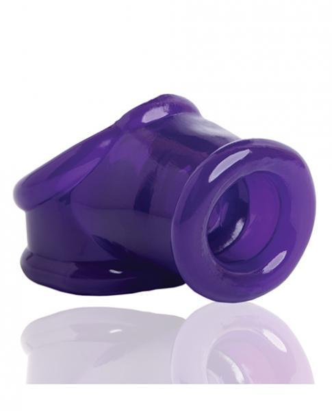Powersling Cock Sling Ball Stretcher Eggplant Purple