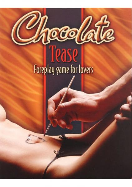 Chocolate Tease Foreplay Game For Lovers