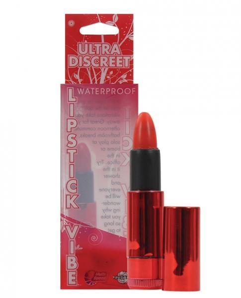 Lipstick Vibe Ultra Discreet Waterproof Red