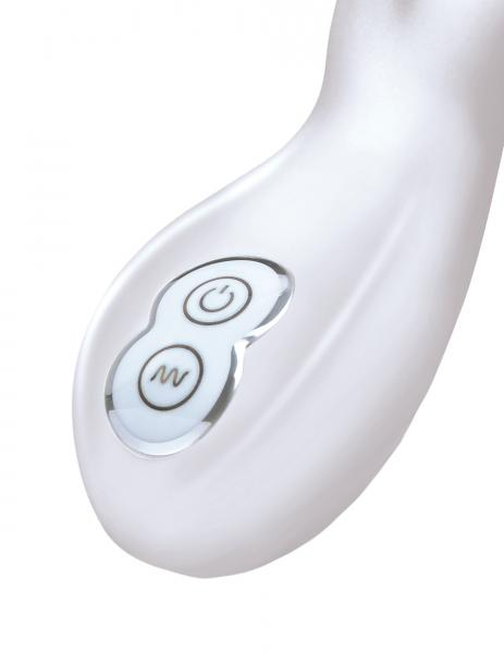 Le Reve Silicone Bunny Massager White