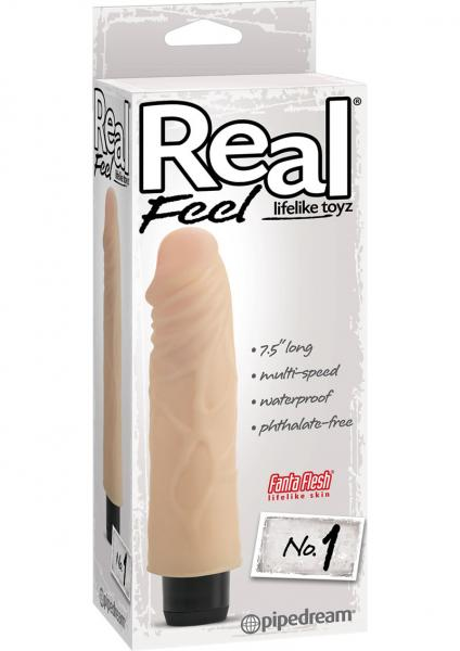 Real Feel Lifelike Toyz No.1 Beige Vibrator