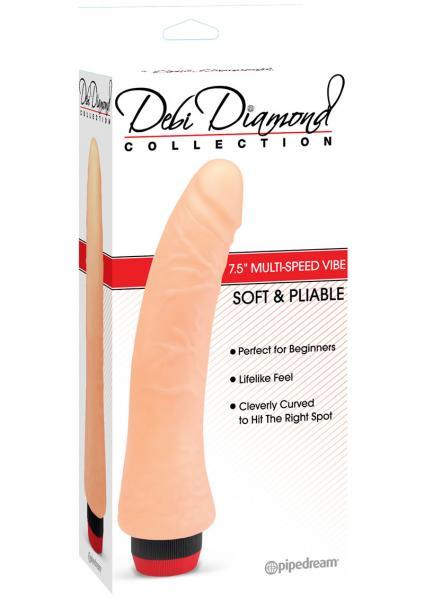 Debi Diamond No 2 Vibrator 9 Inches Beige