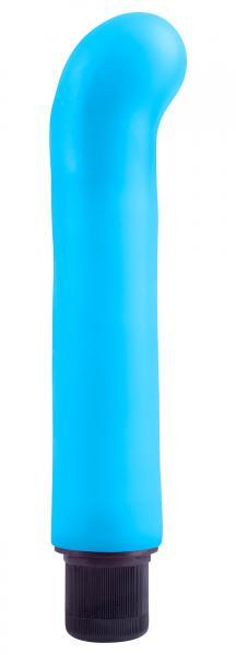 Neon XL G-Spot Softees Blue Vibrator