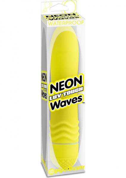 Neon Luv Touch Waves Waterproof 5.5 Inch Yellow