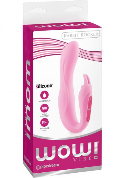 WOW Rabbit Rocker Pink Vibrator