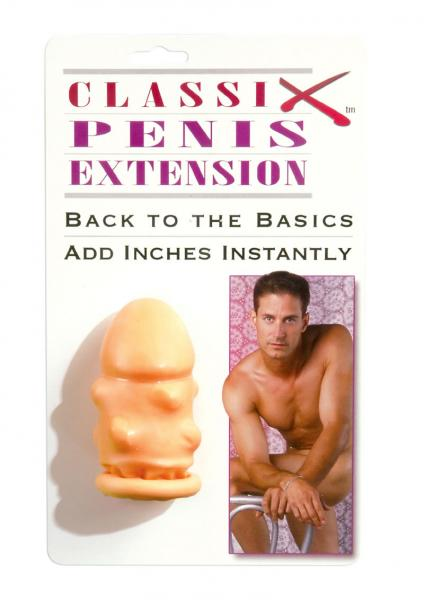 Classix Penis Extension 1.75 Inch Flesh