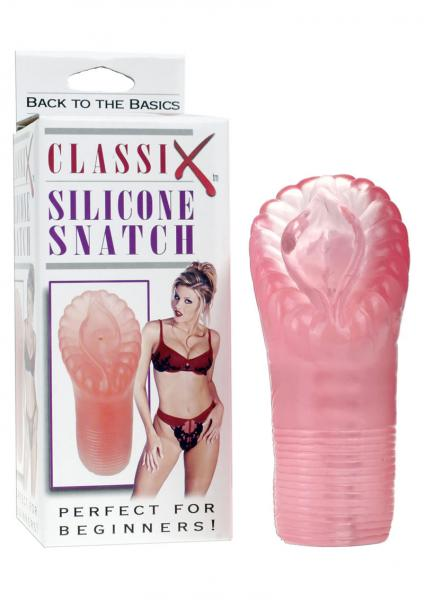 Classix Silicone Snatch Pink Masturbator