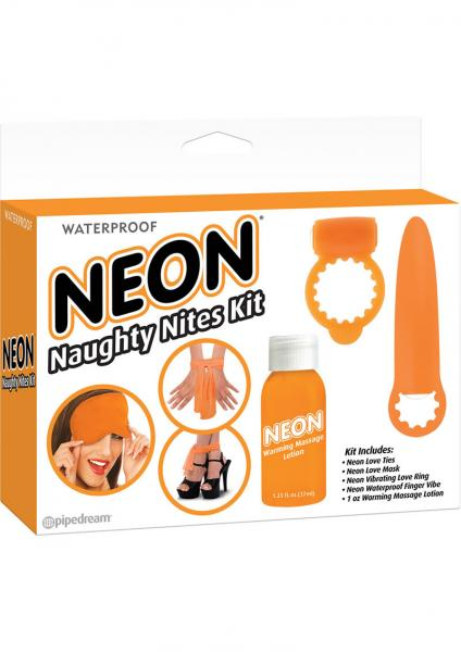 Neon Naughty Nites Kit Orange