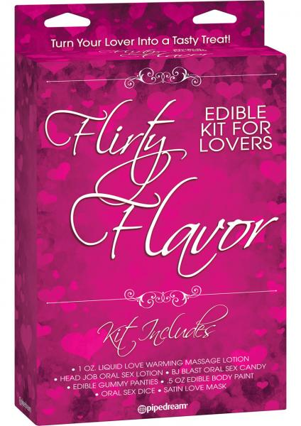 Flirty Flavor Editble Kit For Lovers