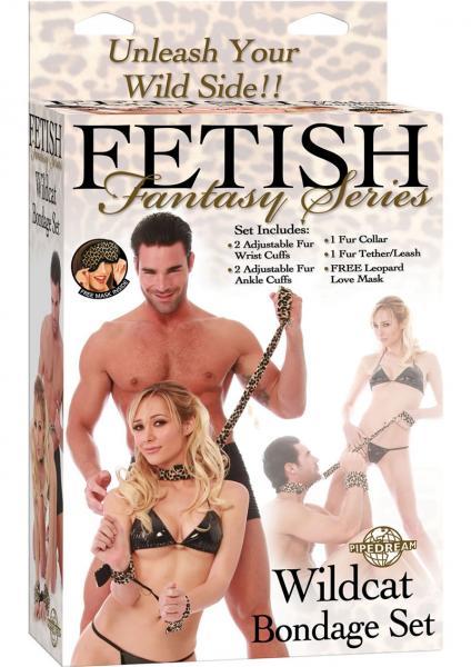 Fetish Fantasy Wildcat Bondage Set