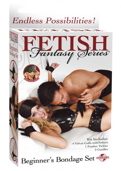 Fetish Fantasy Beginners Bondage Set Black