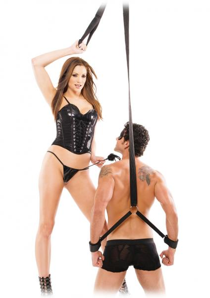 Fetish Fantasy Series Fantasy Tickle Strap Black