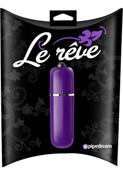 Le Reve Bullet Waterproof 2.5 Inch Purple