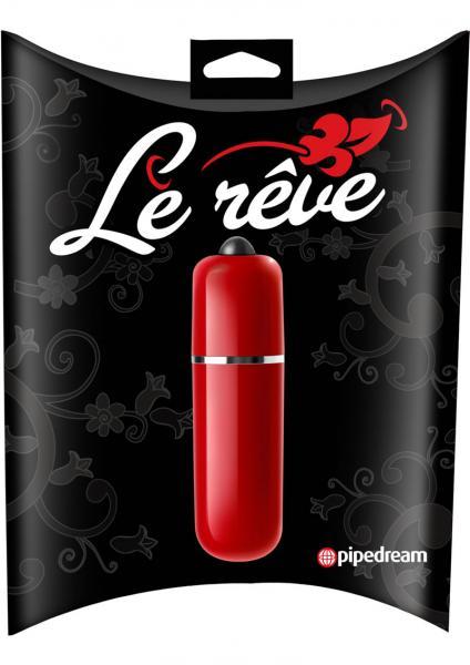 Le Reve Bullet Waterproof 2.5 Inch Red