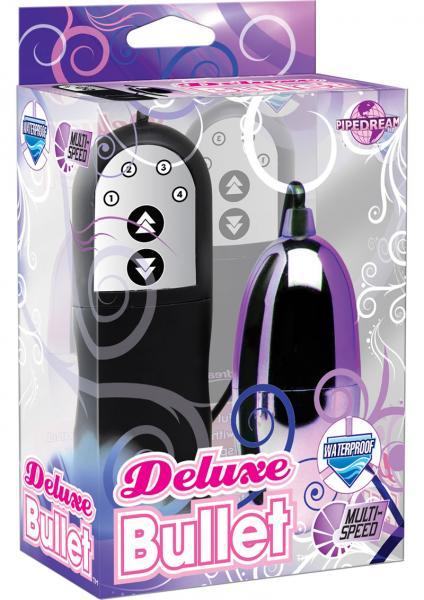 Deluxe Bullet Waterproof 2.5 Inch Purple