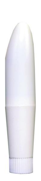 Deluxe Vibrator 4.5 Inch White