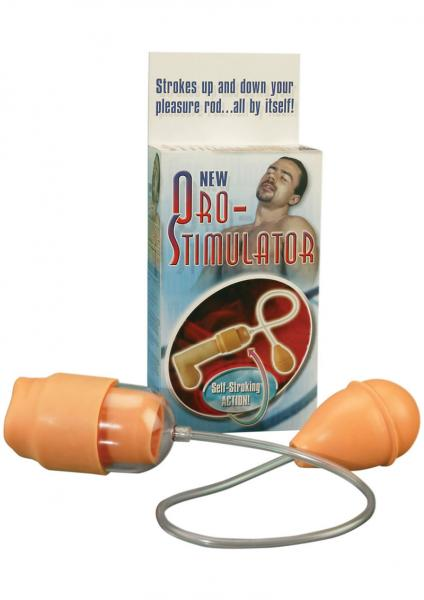 New Oro Stimulator Penis Pump Beige