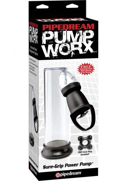 Pump Worx Sure Grip Power Pump Clear