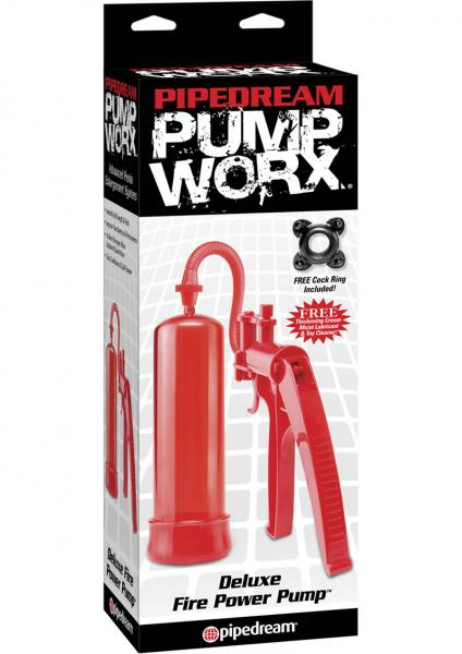 Deluxe Fire Pump Red