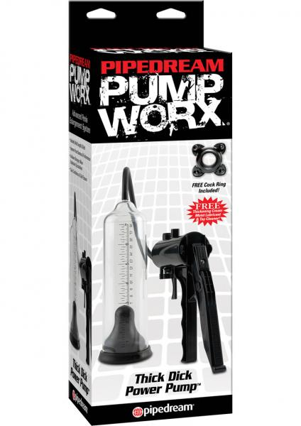 Pump Worx Thick Dick Power Penis Pump