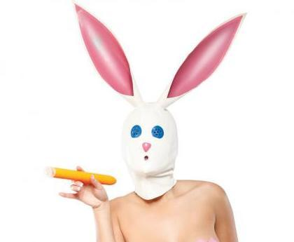 Honey Bunny Latex Hood