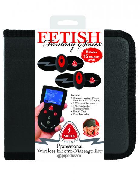 Fetish Fantasy Shock Therapy Professional Electro Massage Kit