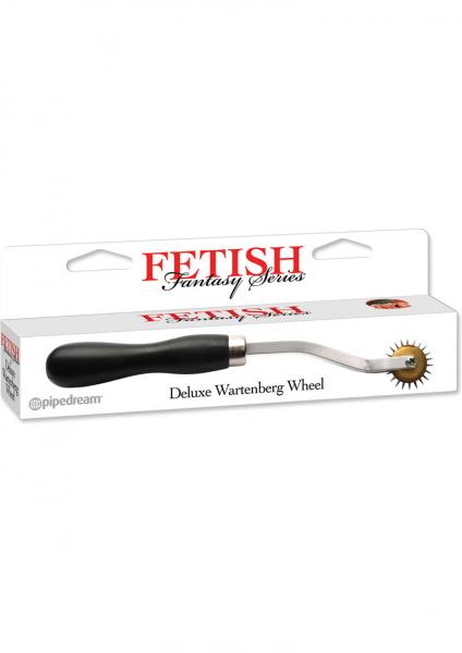 Fetish Fantasy Deluxe Wartenberg Wheel Stainless Steel Pinwheel