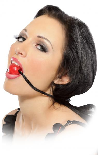 Candy Ball Gag Red