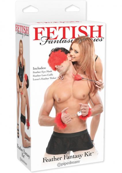 Fetish Fantasty Feather Fantasy Kit Red