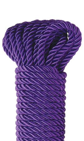 Fetish Fantasy Series Deluxe Silky Rope Purple 32ft