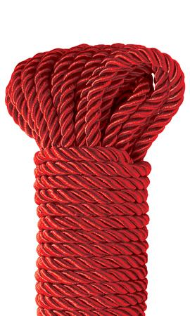 Fetish Fantasy Deluxe Silk Rope Red
