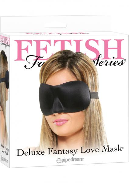 Fetish Fantasy Deluxe Fantasy Love Mask Black