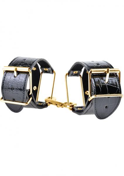 Fetish Fantasy Gold Cuffs Black/Gold