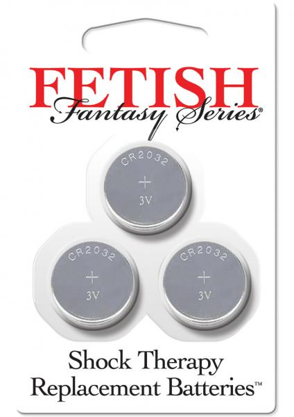Fetish Fantasy Shock Therapy Replacement Batteries 3 Each Per Pack