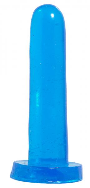 Basix Rubber Works Smoothy Dong 5 Inch Blue
