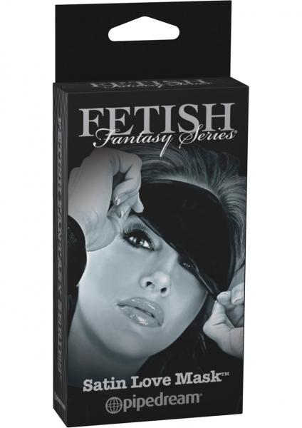 Fetish Fantasy Satin Love Mask Black Limited Edition