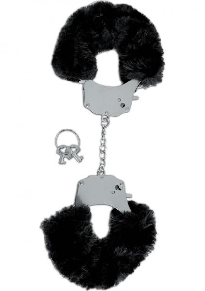 Fetish Fantasy Furry Cuffs Black Limited Edition